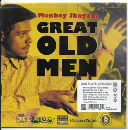 Monkey Jhayam - Great Old Men / Dub (Iron Sound Records) 7""